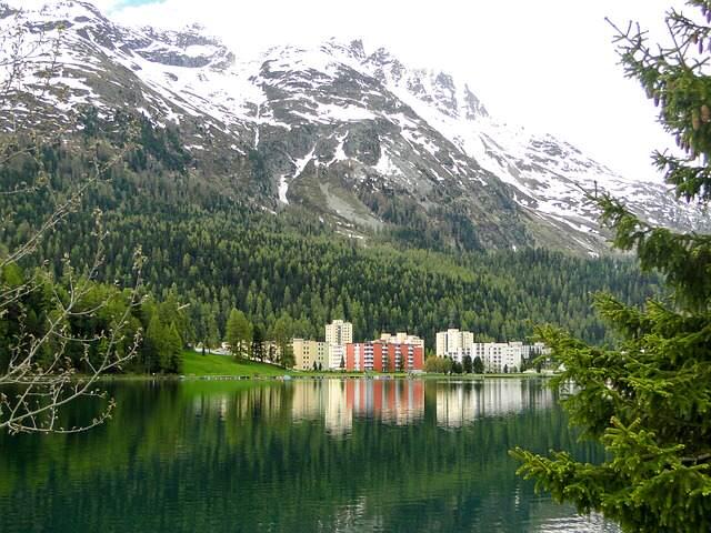 St Moritz e il treno del Bernina