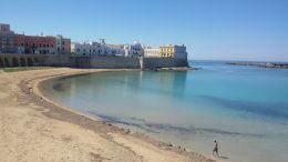 Spiagga della purità, Gallipoli