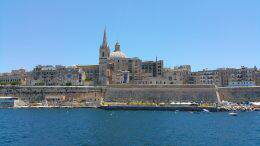 Malta in barca a vela