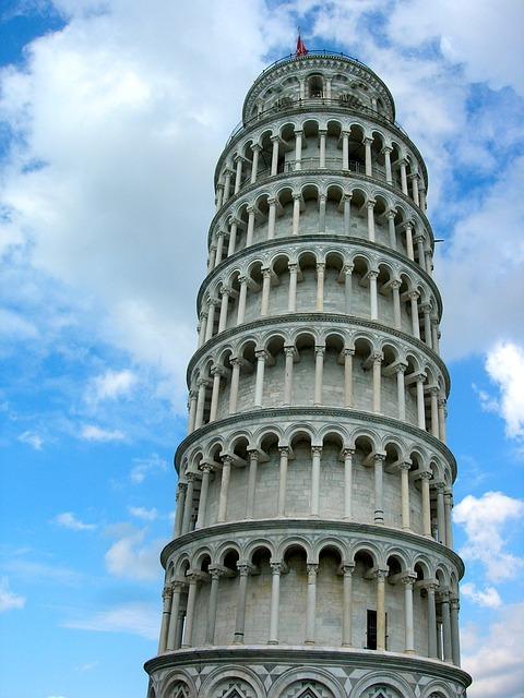 Visita di Pisa in due giorni, la Torre pendente